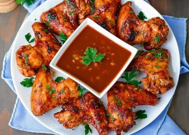 Как замариновать куриные крылышки для ироматного и сочного шашлыка 🥡