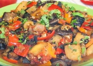 Готовим оригинальное кавказское овощное рагу аджапсандал: рецепт с пошаговыми фото.