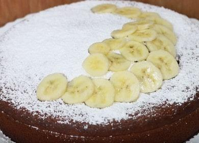 Очень вкусный банановый пирог 🥝