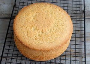 Пышный и простой бисквит для торта: готовим по пошаговому рецепту с фото.