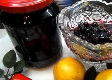 Ароматное варенье из черноплодной рябины с яблоками 🍎
