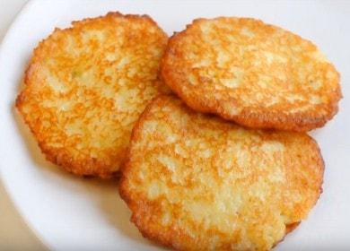 Классический рецепт самых 🥝 вкусных картофельных драников