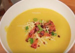 Готовим классический тыквенный суп-пюре по пошаговому рецепту с фото.