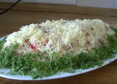 Праздничный салат «Летний» 🥝 из простых продуктов