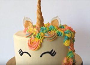 Готовим роскошный торт на день рождения Единорог: детальный пошаговый рецепт с фото.