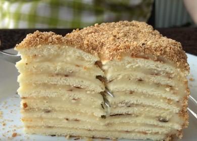 Нежный и вкусный торт 🥝 на сковороде