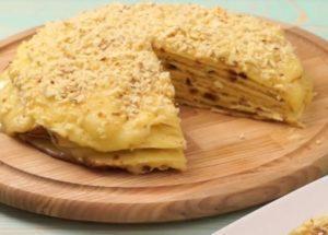 Готовим торт проще простого: рецепт с пошаговыми фото.