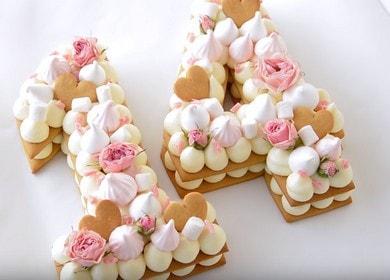 Оригинальный и вкусный торт 🥝 Цифра