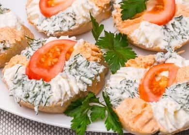 Яркие и вкусные бутерброды на праздничный стол