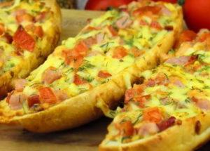 Горячие бутерброды по пошаговому рецепту с фото