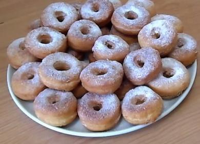 Пышные пончики на кефире 🥝
