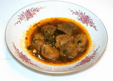 Жаркое из свинины 🥝 в казане — вкусно и просто