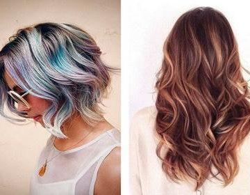 100 фото самых красивых 🥝 идей для колорирования волос