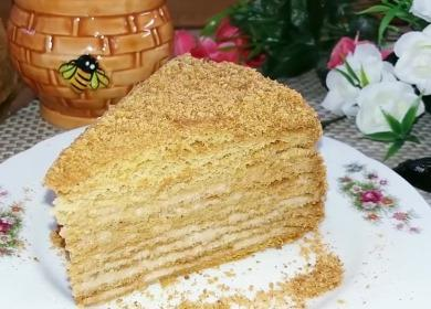 Невероятно вкусный медовый 🥝 торт
