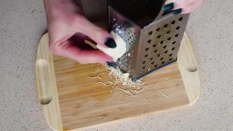 Овсяноблин с сырной начинкой