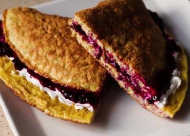 Простой и полезный завтрак 🥝 — 5 начинок для овсяноблина