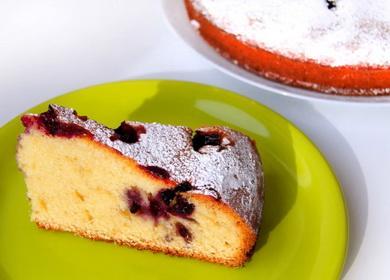 Ароматный и очень вкусный 🥝 пирог со смородиной