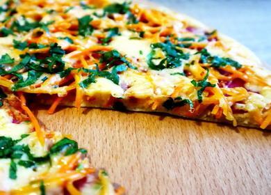 Пицца за 5 минут 🥝 на сковороде — самый быстрый рецепт