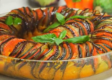 Рецепт французского блюда 🥝 Рататуй