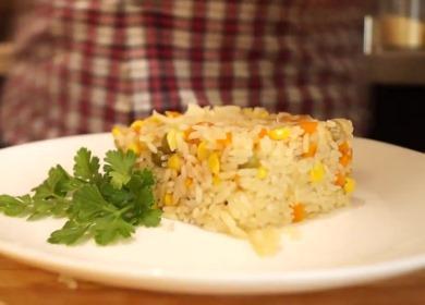 Вкусный рис в мультиварке 🥝