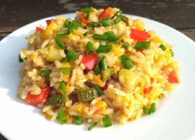 Рецепт мега вкусного 🥝 риса с овощами