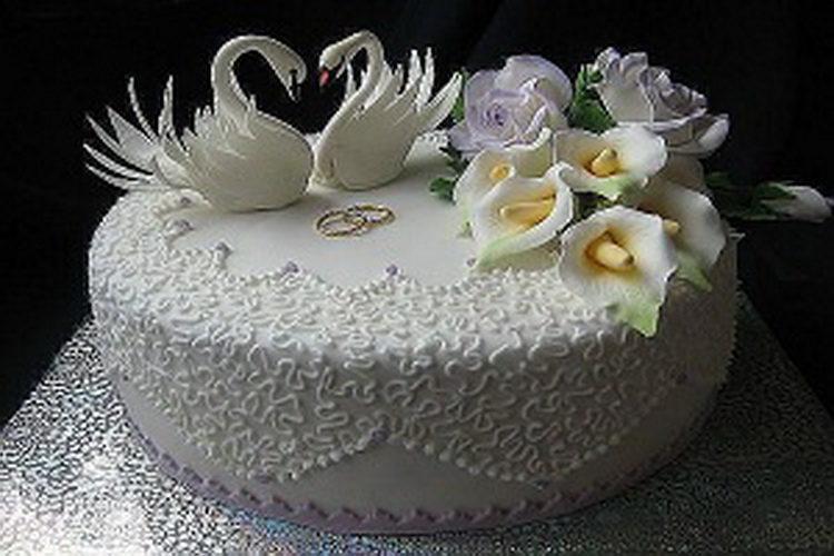 одноярусные свадебные торты фото самые красивые этом