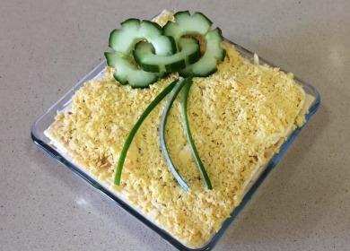 Самый популярный слоеный 🥝 салат на праздничный стол