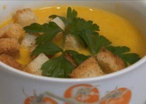 готовим невероятный суп крем из тыквы со сливками