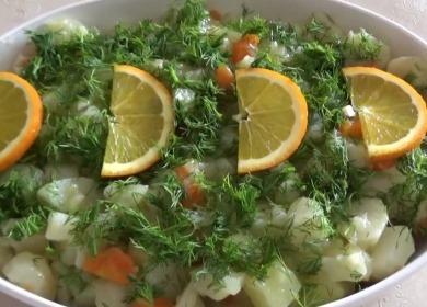 Рецепт приготовления вкусного и полезного салата из топинамбура🥗