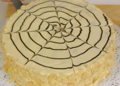 Знаменитый торт «Эстерхази» 🥝 с миндальными коржами и нежным кремом