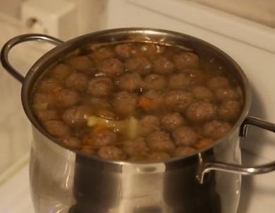 Рецепт быстрого приготовления 🥝 фрикаделек для супа из фарша