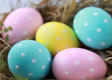 3 оригинальных способа 🥝 окрасить пасхальное яйцо