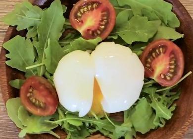 Два способа приготовить 🥝 яйцо пашот