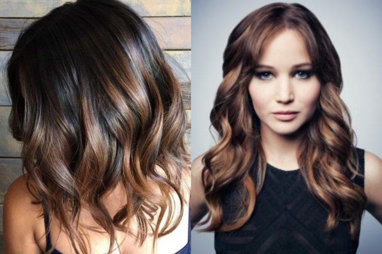 магнитик колорирование темных волос фото до и после любимый