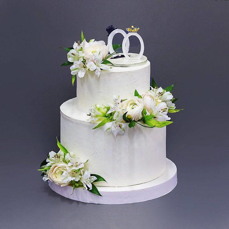 это торт свадебный двухъярусный фото когда извлёк