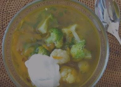 Рецепт приготовления вкусного 🥝 вегетарианского супа