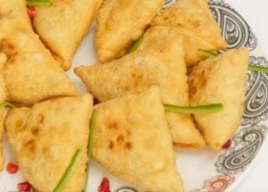 Самосы: очень вкусный рецепт индийской кухни.