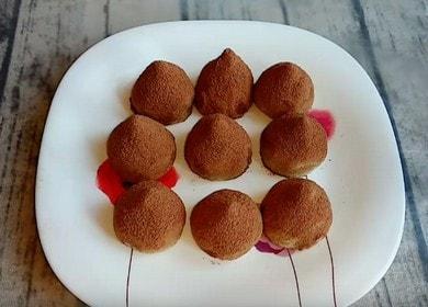 Рецепт приготовления трюфелей 🥝 из кокосовой муки