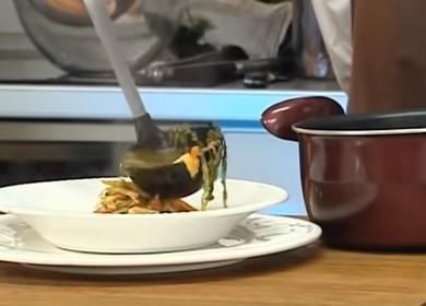 Вкусный суп овощной 🥝 на курином бульоне