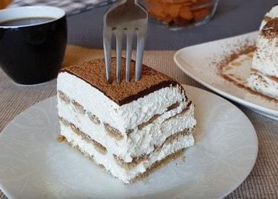 Нежный торт из творога 🥝
