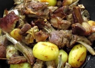 Ароматная и очень вкусная 🥝 баранина с картошкой
