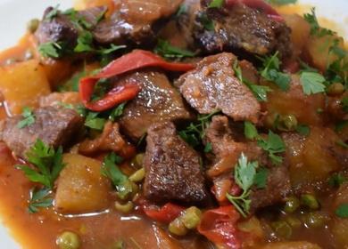 Мясо с овощами — быстро, 🥝 вкусно и очень просто