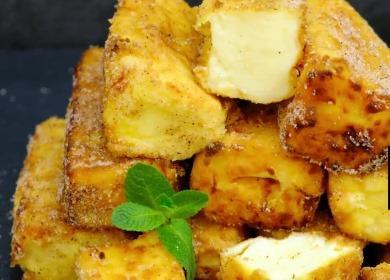 Рецепт жареного молока 🥝 — нежнейший десерт в хрустящей корочке