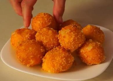 Легкое и очень вкусное 🥝 блюдо из сыра