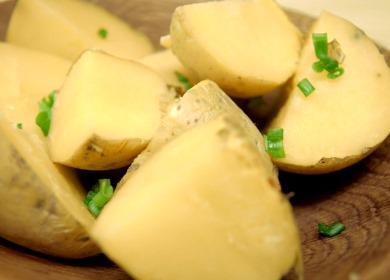 Картошка в мундире, 🥝 запеченная в микроволновке