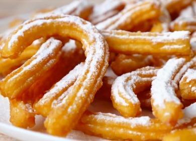 Рецепт очень легкого 🥝 испанского десерта Чуррос