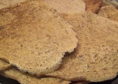 Рецепт вкусных оладьев 🥝 из льняной муки