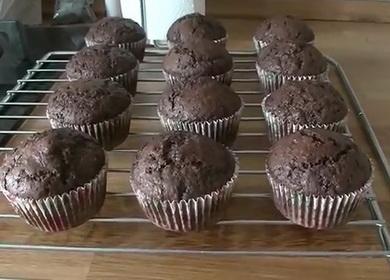Самые вкусные шоколадные капкейки 🥝 по рецепту от Энди Шефа