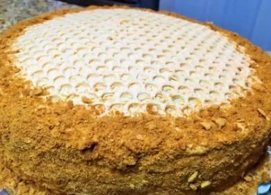 Нежный медовый крем 🥝 для торта