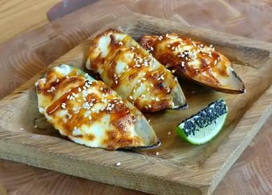 Рецепт приготовления обалденных 🥝 мидий с сырно-чесночным соусом